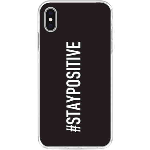 Casetastic Softcover Apple iPhone XS Max - Stay Positive