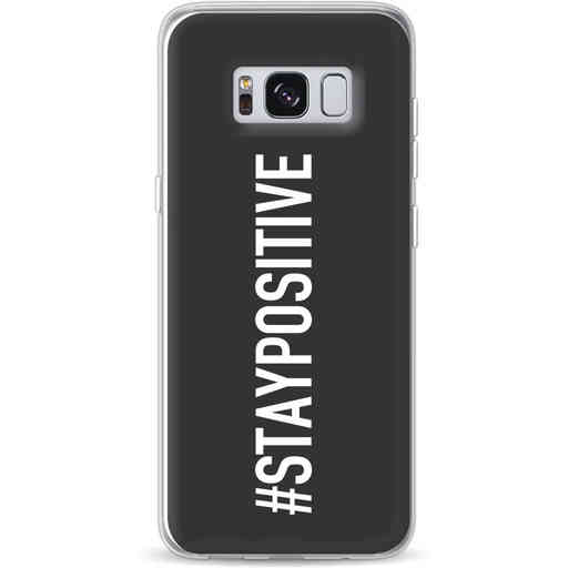 Casetastic Softcover Samsung Galaxy S8 - Stay Positive