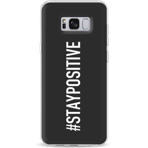 Casetastic Softcover Samsung Galaxy S8 Plus - Stay Positive