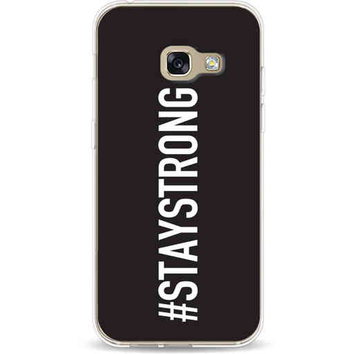 Casetastic Softcover Samsung Galaxy A3 (2017)  - Stay Strong