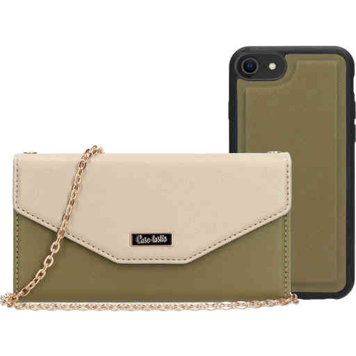 Casetastic Clutch Apple iPhone 7/8/SE (2020) Gold/Green