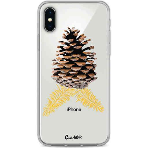 Casetastic Softcover Apple iPhone X / XS - Pinecone