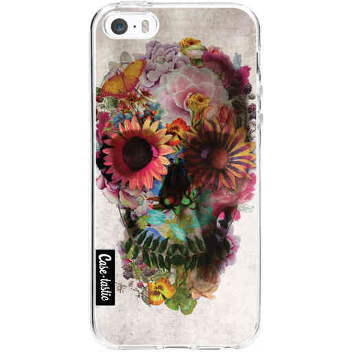 Casetastic Softcover Apple iPhone 5 / 5s / SE - Skull 2