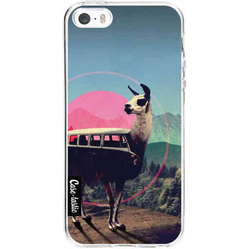 Casetastic Softcover Apple iPhone 5 / 5s / SE - Llama