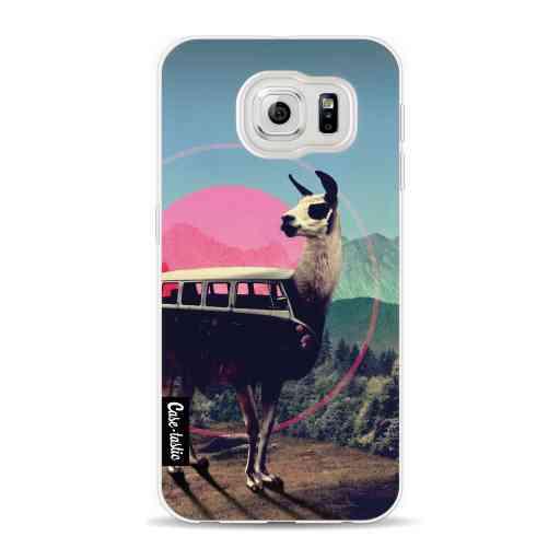 Casetastic Softcover Samsung Galaxy S6 - Llama