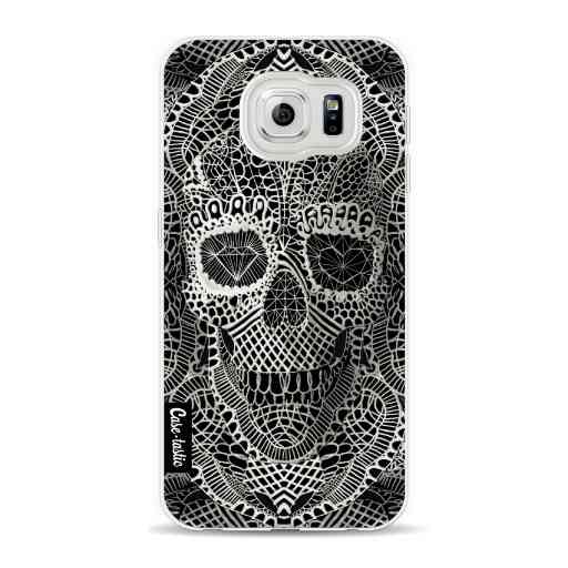 Casetastic Softcover Samsung Galaxy S6 - Lace Skull
