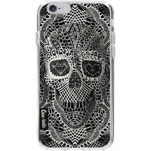 Casetastic Softcover Apple iPhone 6 / 6s - Lace Skull