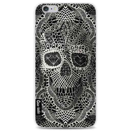 Casetastic Softcover Apple iPhone 6 Plus / 6s Plus - Lace Skull