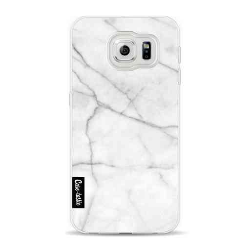 Casetastic Softcover Samsung Galaxy S6 - White Marble