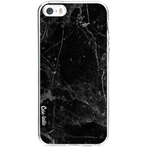 Casetastic Softcover Apple iPhone 5 / 5s / SE - Black Marble