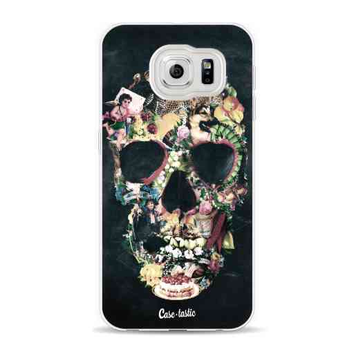 Casetastic Softcover Samsung Galaxy S6 - Vintage Skull