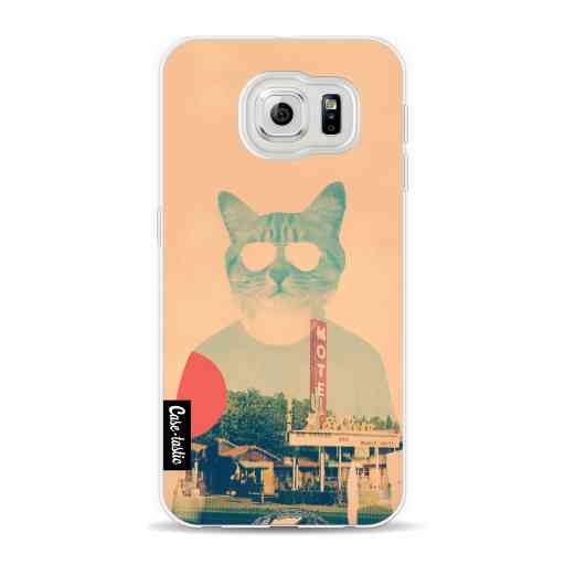 Casetastic Softcover Samsung Galaxy S6 - Cool Cat