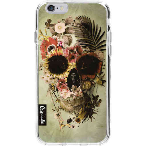 Casetastic Softcover Apple iPhone 6 / 6s - Garden Skull Light