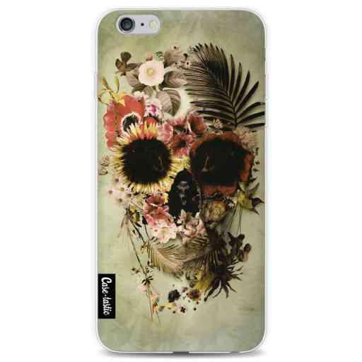 Casetastic Softcover Apple iPhone 6 Plus / 6s Plus - Garden Skull Light