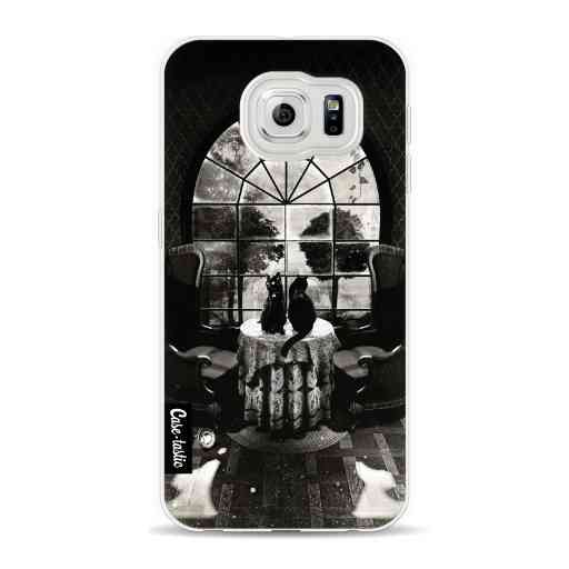 Casetastic Softcover Samsung Galaxy S6 - Room Skull BW