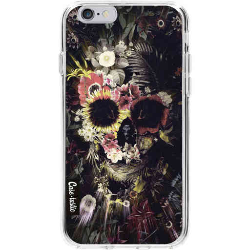 Casetastic Softcover Apple iPhone 6 / 6s - Garden Skull