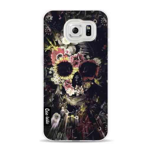 Casetastic Softcover Samsung Galaxy S6 - Garden Skull