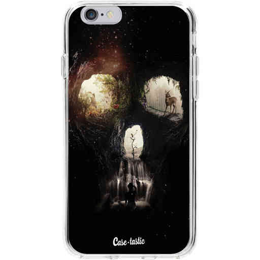 Casetastic Softcover Apple iPhone 6 / 6s - Cave Skull