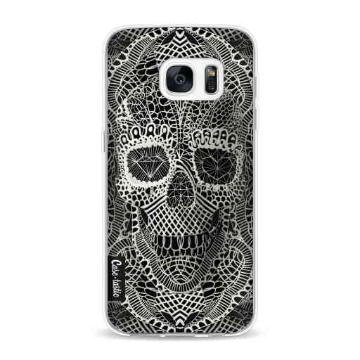 Casetastic Softcover Samsung Galaxy S7 - Lace Skull