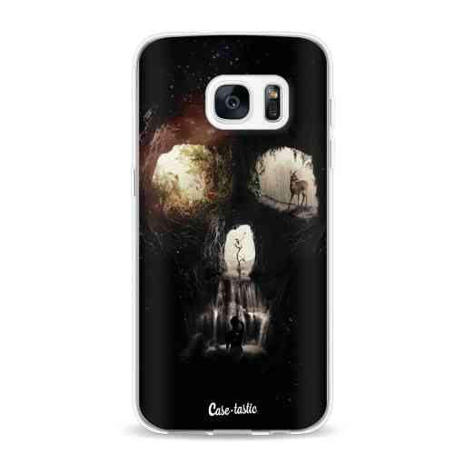 Casetastic Softcover Samsung Galaxy S7 - Cave Skull