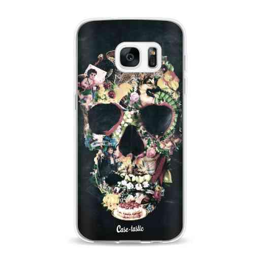 Casetastic Softcover Samsung Galaxy S7 - Vintage Skull
