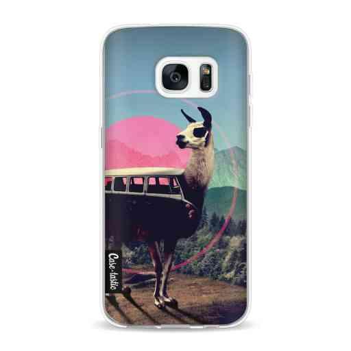 Casetastic Softcover Samsung Galaxy S7 - Llama