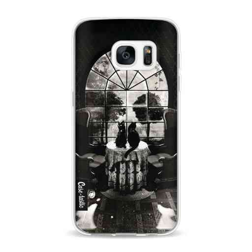 Casetastic Softcover Samsung Galaxy S7 - Room Skull BW