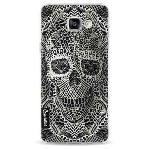 Casetastic Softcover Samsung Galaxy A5 (2016) - Lace Skull