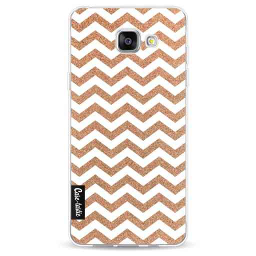 Casetastic Softcover Samsung Galaxy A5 (2016) - Copper Chevron