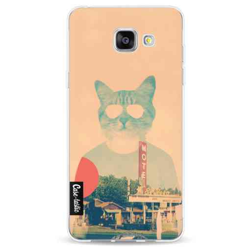 Casetastic Softcover Samsung Galaxy A5 (2016) - Cool Cat