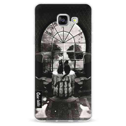 Casetastic Softcover Samsung Galaxy A5 (2016) - Room Skull BW