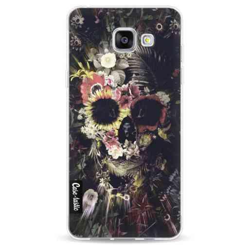 Casetastic Softcover Samsung Galaxy A5 (2016) - Garden Skull