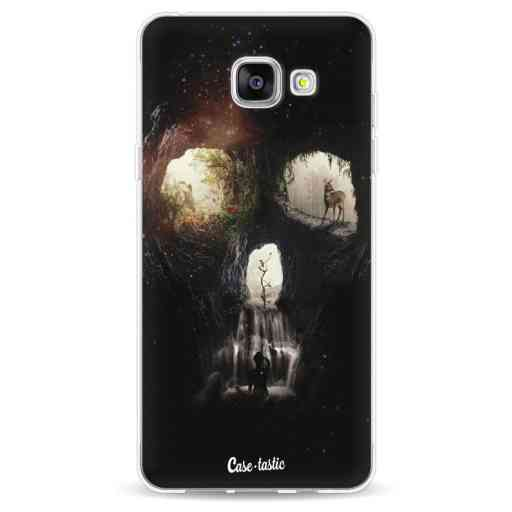 Casetastic Softcover Samsung Galaxy A5 (2016) - Cave Skull