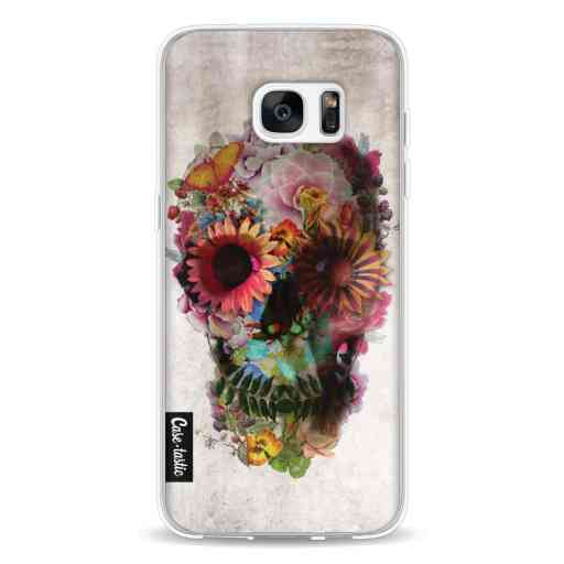 Casetastic Softcover Samsung Galaxy S7 Edge - Skull 2
