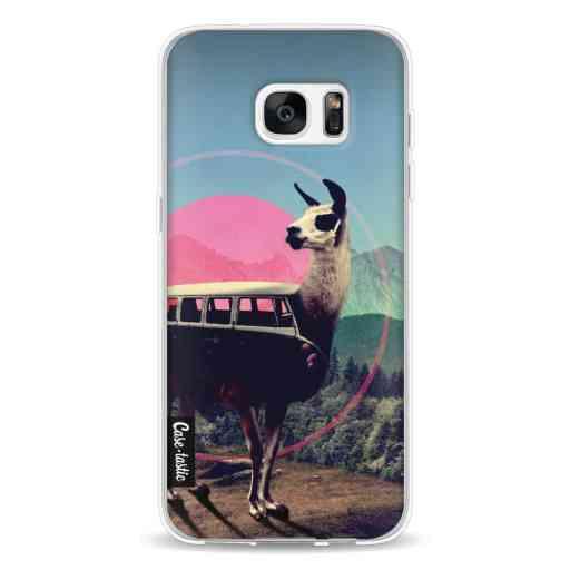 Casetastic Softcover Samsung Galaxy S7 Edge - Llama