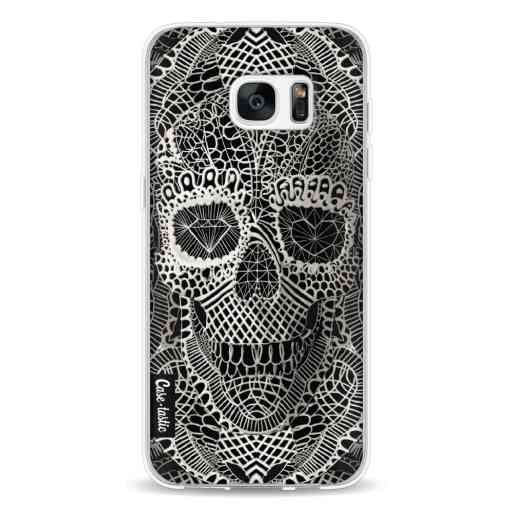Casetastic Softcover Samsung Galaxy S7 Edge - Lace Skull