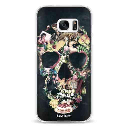 Casetastic Softcover Samsung Galaxy S7 Edge - Vintage Skull