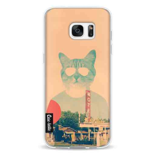 Casetastic Softcover Samsung Galaxy S7 Edge - Cool Cat