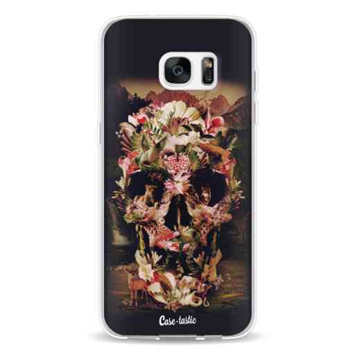 Casetastic Softcover Samsung Galaxy S7 Edge - Jungle Skull