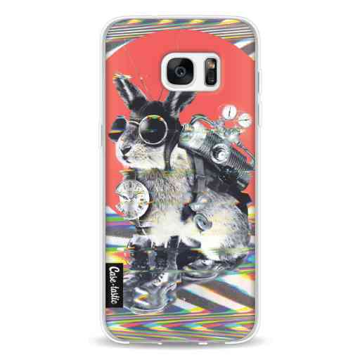 Casetastic Softcover Samsung Galaxy S7 Edge - Time Traveller