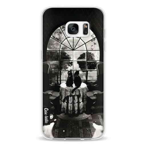 Casetastic Softcover Samsung Galaxy S7 Edge - Room Skull BW