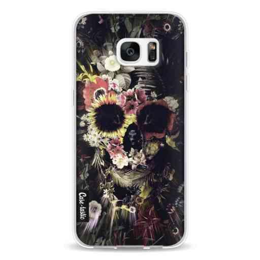 Casetastic Softcover Samsung Galaxy S7 Edge - Garden Skull
