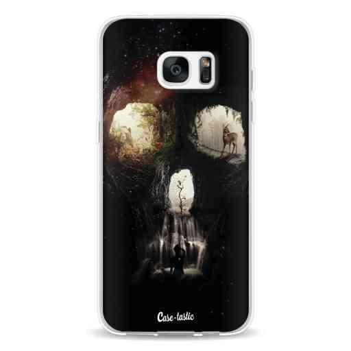 Casetastic Softcover Samsung Galaxy S7 Edge - Cave Skull