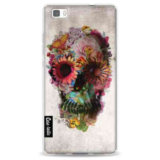 Casetastic Softcover Huawei P8 Lite - Skull 2