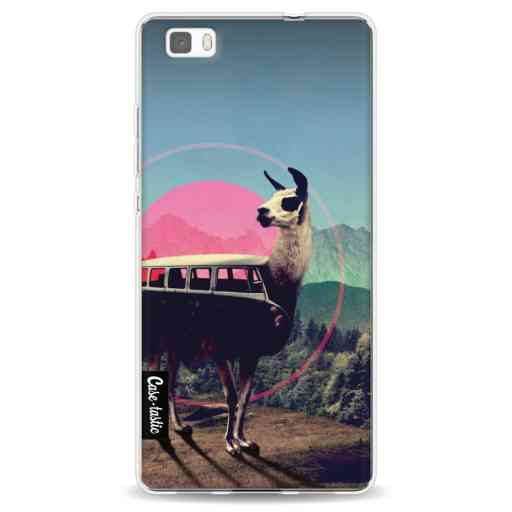 Casetastic Softcover Huawei P8 Lite (2015) - Llama