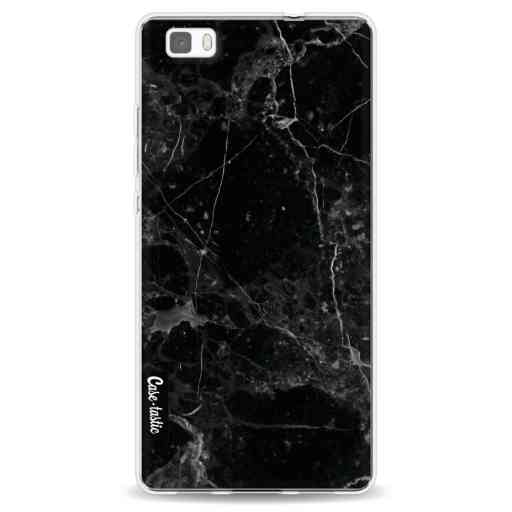 Casetastic Softcover Huawei P8 Lite (2015) - Black Marble