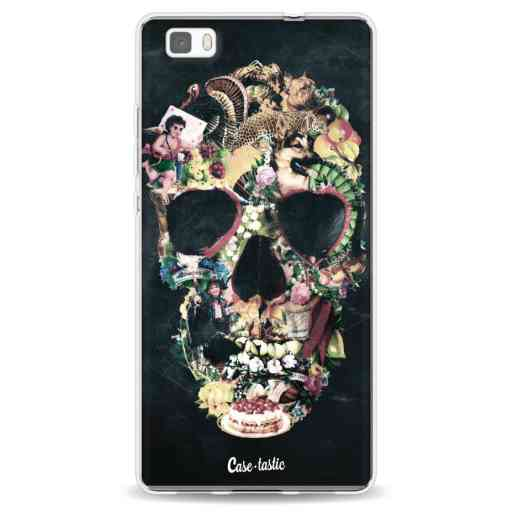Casetastic Softcover Huawei P8 Lite - Vintage Skull