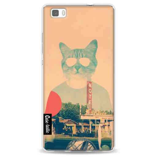 Casetastic Softcover Huawei P8 Lite - Cool Cat