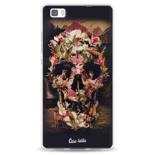 Casetastic Softcover Huawei P8 Lite - Jungle Skull