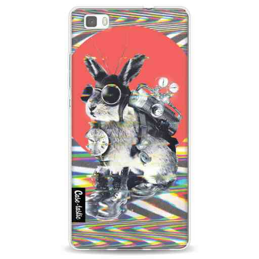 Casetastic Softcover Huawei P8 Lite - Time Traveller